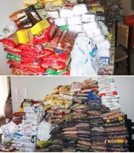 Alimentos arrecadados na 53ª Festa da Uva são entregues a entidades do município