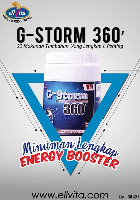 G-STORM 360'| Penawar Gastrik Anda