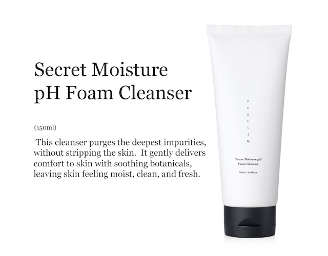 Purelim Secret Moisture pH Form Cleanser