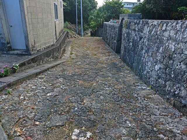 富里石畳道の写真