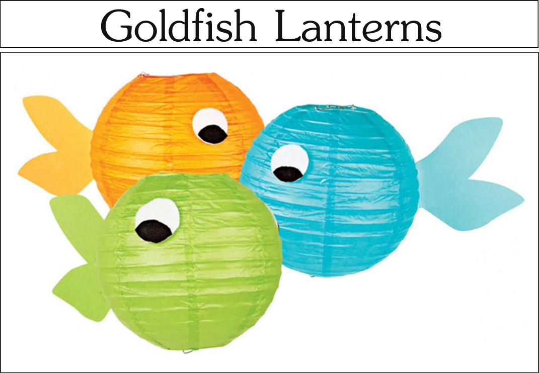 Its Written on the Wall Cute Goldfish Birthday Party Decor Food