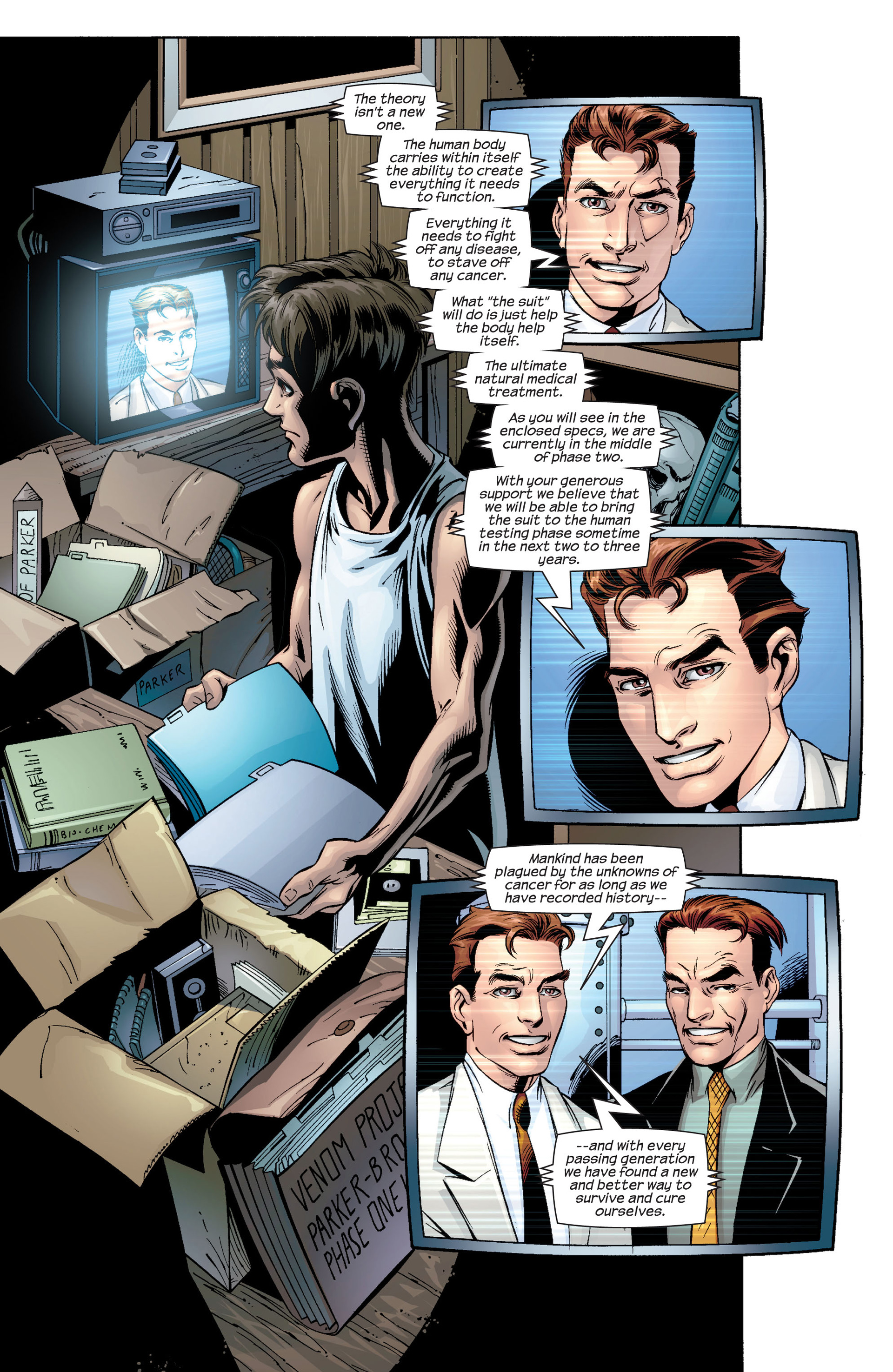 Read online Ultimate Spider-Man (2000) comic -  Issue #34 - 15