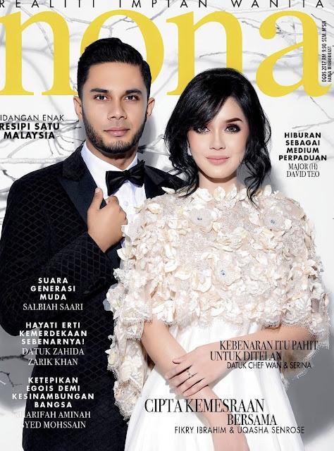 Majlis Perkahwinan Dr Nana dalam Majalah NONA Ogos 2017