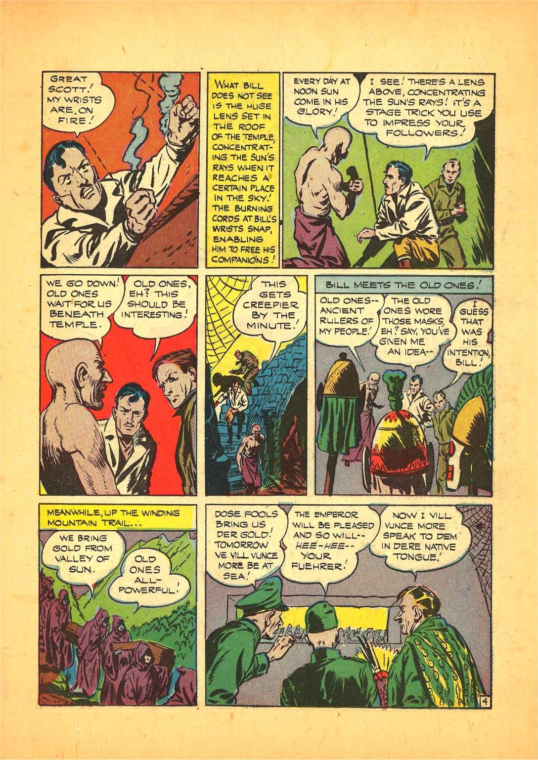 Read online Action Comics (1938) comic -  Issue #68 - 34