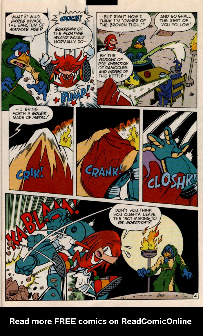 Read online Sonic The Hedgehog comic -  Issue #46 - 23