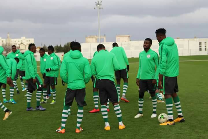 CHAN: Home based Super Eagles ready for battle against Angola