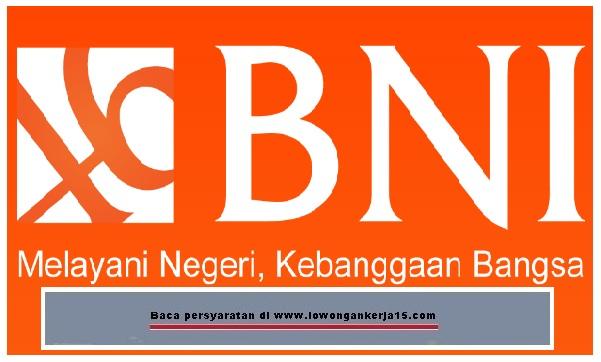 lowongan kerja BINA BNI 2017