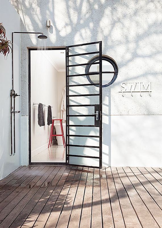 Outdoor shower | Image by Aubrey Jonsson via House&Leisure