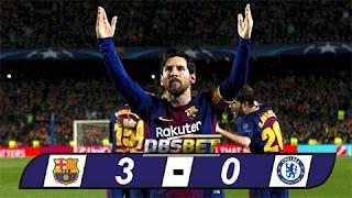 Barcelona 3-0 Chelsea
