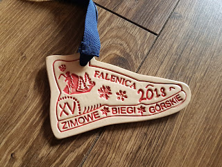 Medal Zimowe Biegi Górskie Falenica 2018