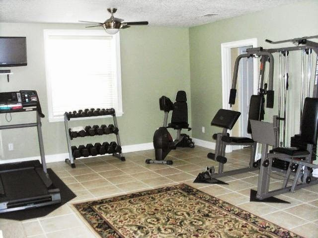 wall colors for home gym