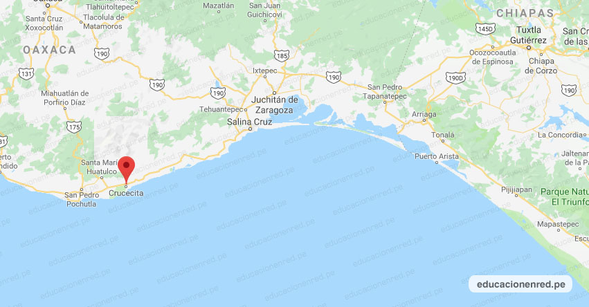 Temblor en México de Magnitud 4.2 (Hoy Domingo 26 Julio 2020) Sismo - Epicentro - Crucecita - Oaxaca - OAX. - SSN - www.ssn.unam.mx