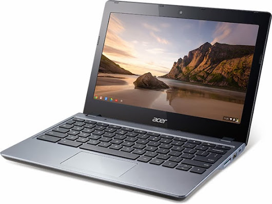 Entering the World of Chrome OS: My review of the Acer Chromebook C720