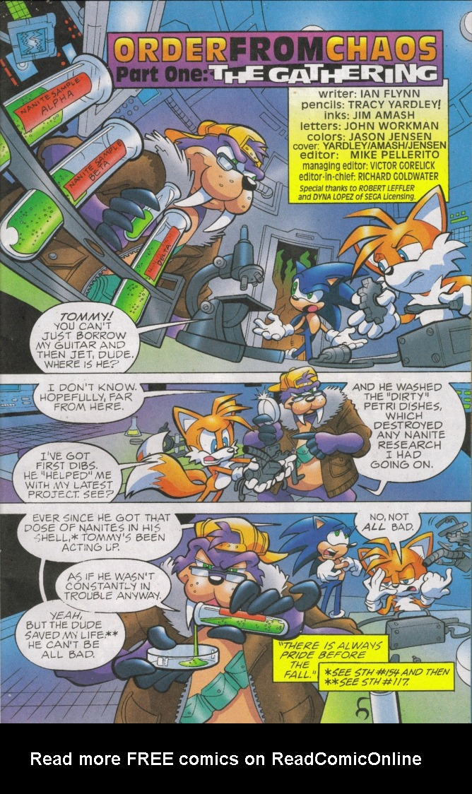 Read online Sonic The Hedgehog comic -  Issue #168 - 3
