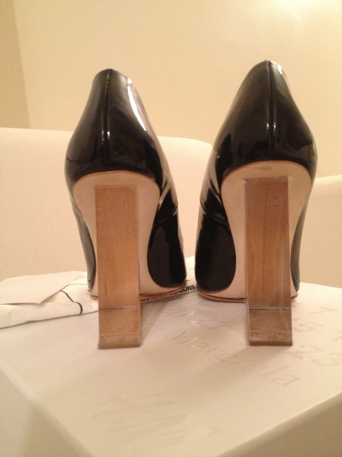 alphabetachic mmm for hampm black invisible wedge heels