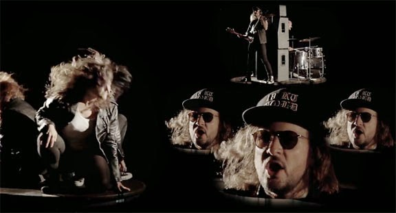 "Official Video: King Tuff - ""Black Moon Spell"" - Leather Clad Head Banging, Marshall Stacks and more"