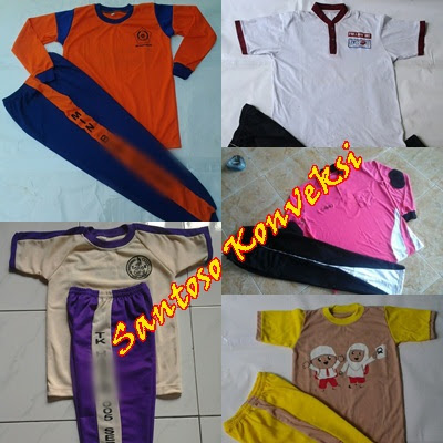 Daftar Harga Baju Kaos Seragam Olahraga Sekolah Terbaru