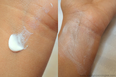 sunscreen white cast