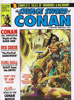 Savage Sword of Conan #15