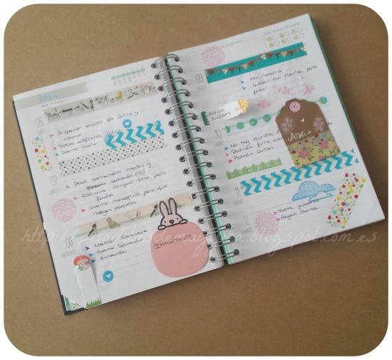 Pijaditas de mayyica 5 ideas para decorar tu agenda recopilaci n de semanas decoradas en mi - Como decorar una agenda ...