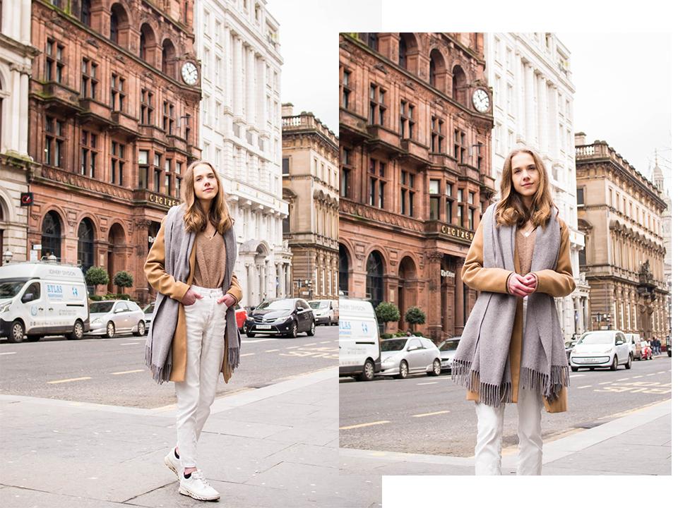 Neutral and chic Scandinavian style fashion blogger outfit - Neutraali, minimalistinen ja skandinaavinen tyyli, muoti, bloggaaja