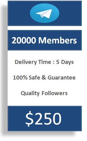 buy 20000 telegram members