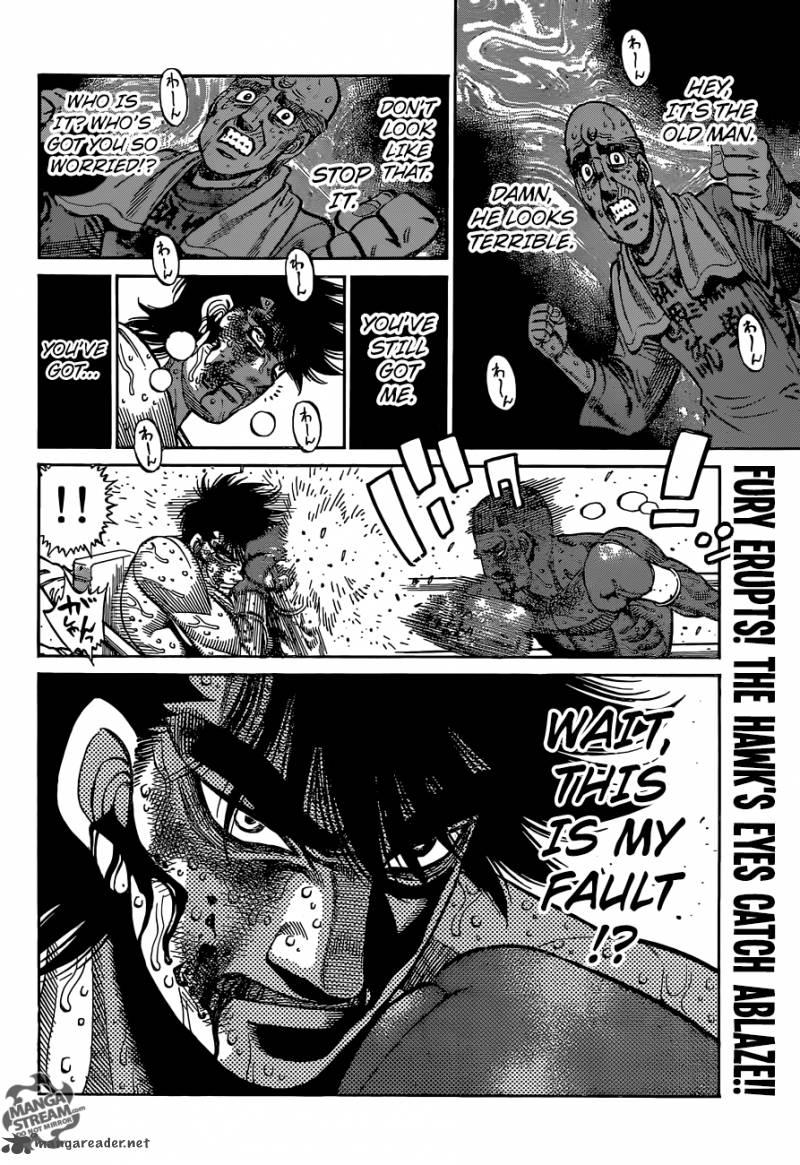 Hajime no Ippo - Chapter 1116