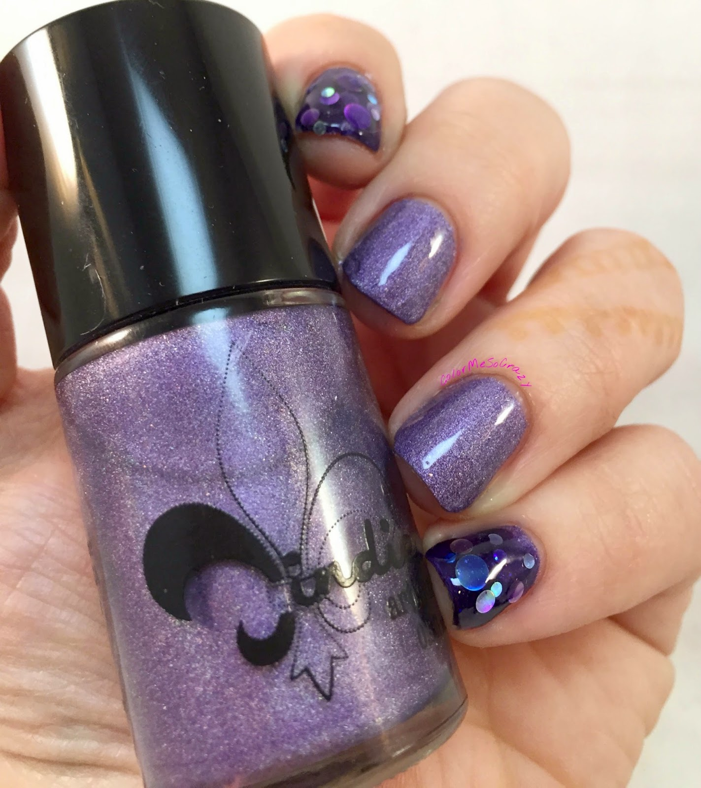 jindie nails, Purple University, Sippin' on Jindie Juice, alpha mani