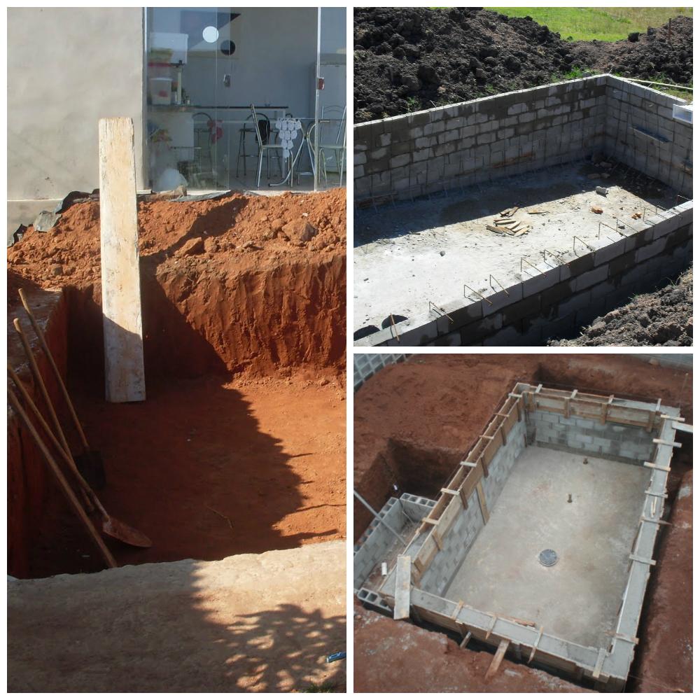 Piscina de concreto vinil ou fibra de vidro dica da arquiteta - Cemento para piscinas ...