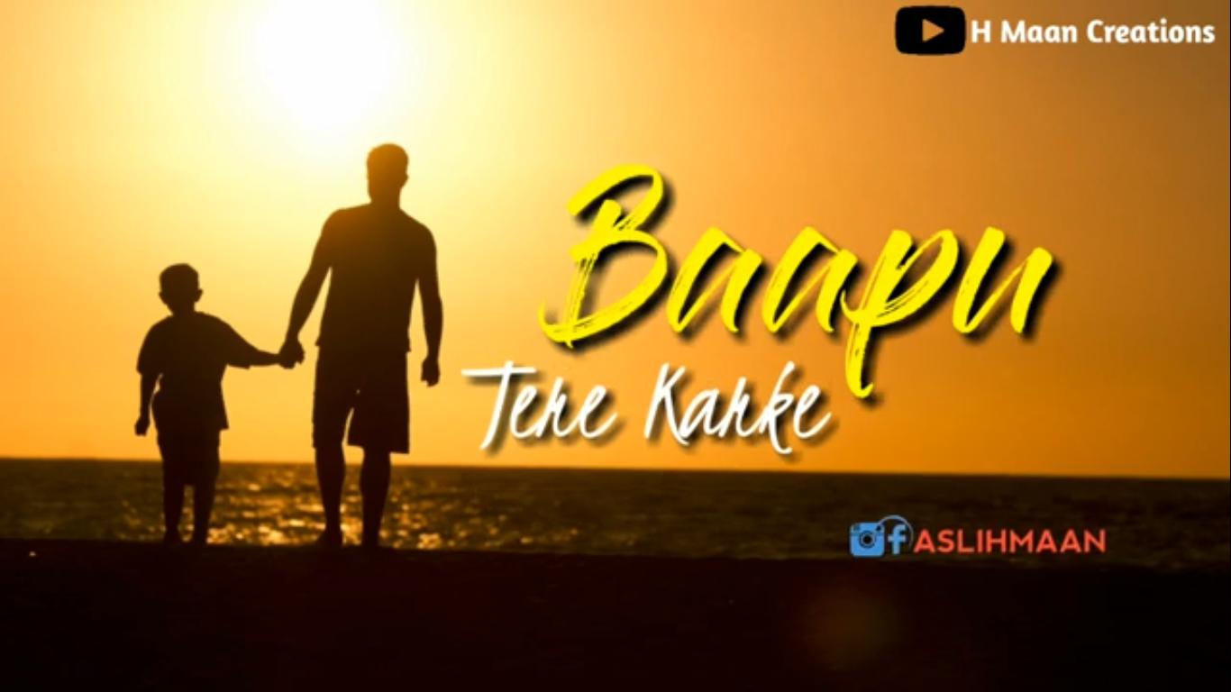 Bapu Tere Karke By Amar Sandhu Whatsapp Status Video