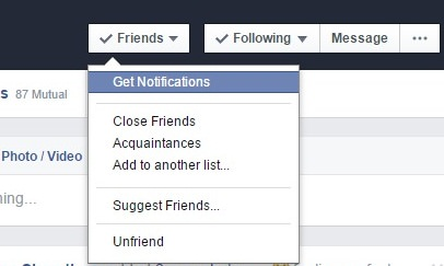 Get Person Notification