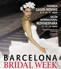 Cartel de Barcelona BRIDAL WEEK 2013