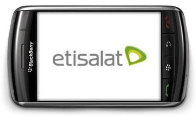 Etisalat-Blackberry-Services