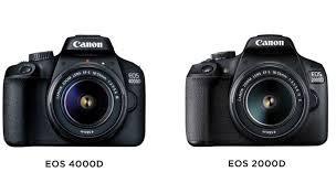 Review DSLR Canon 2000D dan 4000D