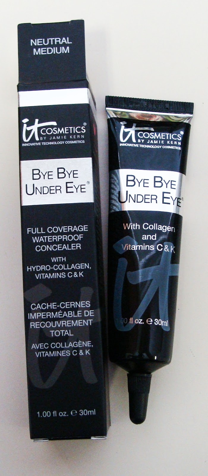 it cosmetics, bye bye under eye, hello light, vitality stain gloss, YBBB, qvc, your most beautiful you, first impression, first impressions, cosmetics, makeup, bblogger, review, anti aging