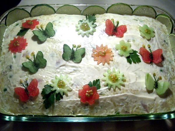 Jenny's Cookbook: Salad-e Olivieh (aka Salade Olivier