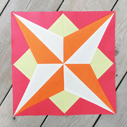 Star Quilt Block Free Tutorial