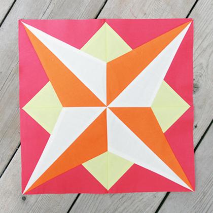 Star Quilt Block Free Tutorial