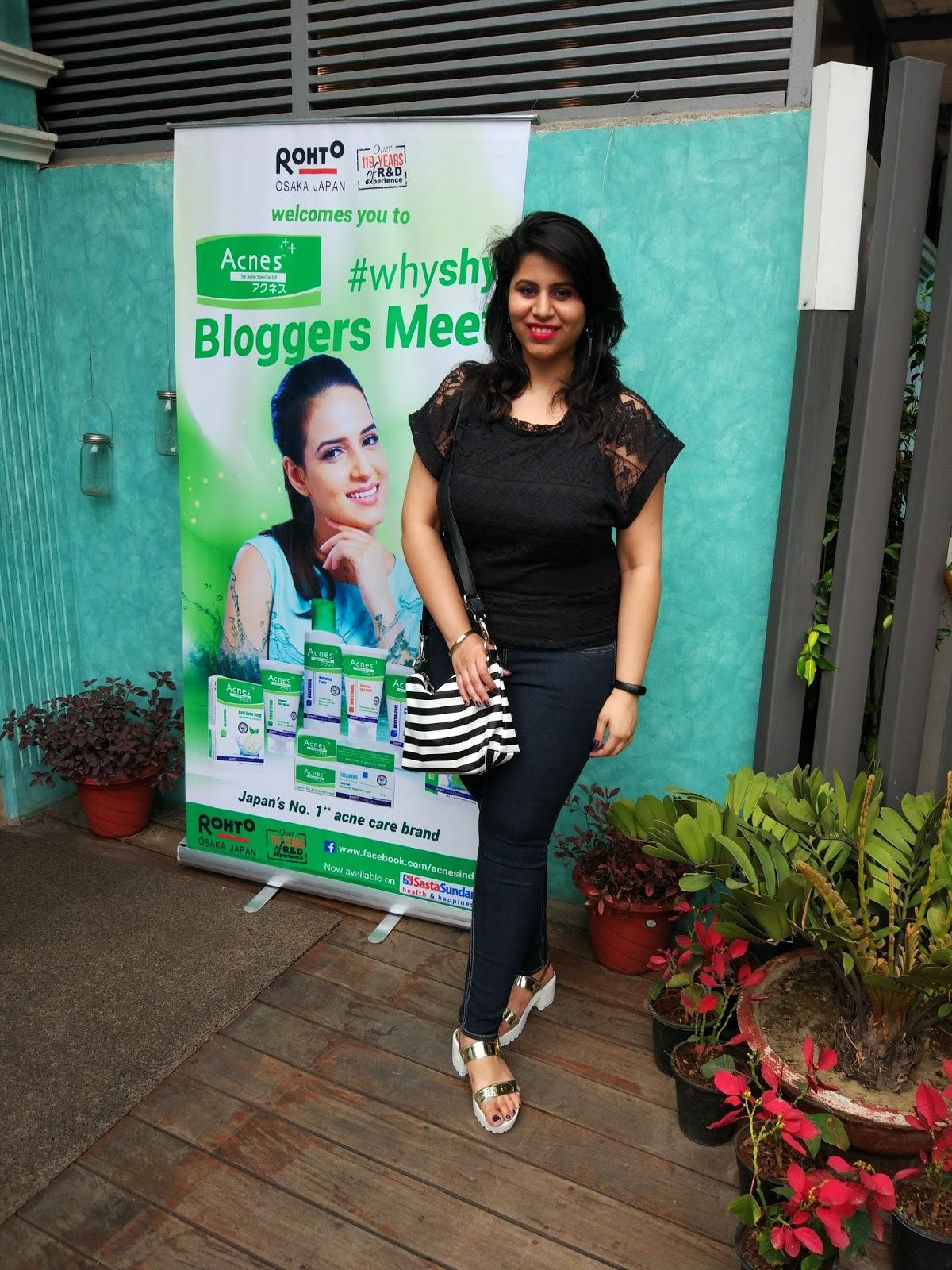 Rohto ACNES Event - Delhi