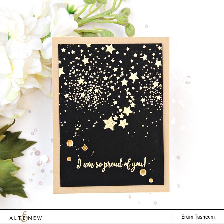 Altenew Kind Words Stamp Set | Erum Tasneem | @pr0digy0