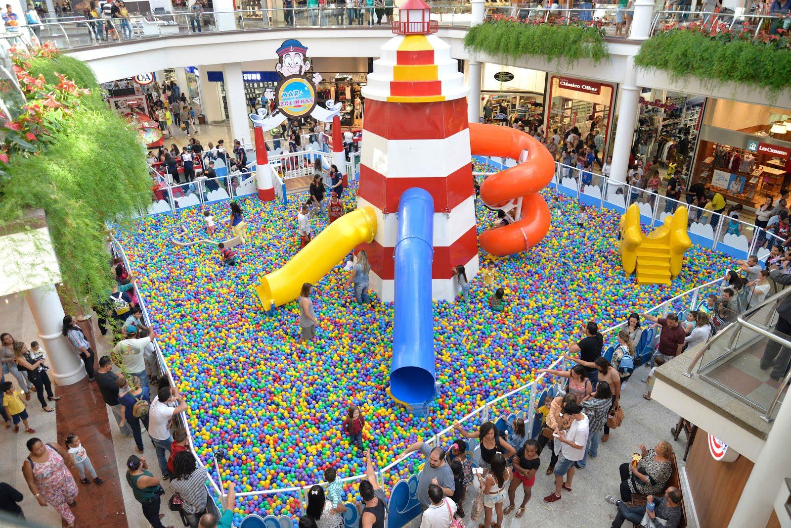 d1881e86285e8 Para animar as férias de julho, o Minas Shopping oferece diversas atrações  culturais e divertidas para as crianças. Entre as opções disponíveis estão  o Mar ...