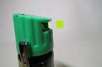 Gürtel Clip: KO Zombie Columbia Verteidigungssprays Pfeffer KO Jet 50 ml mit Gürtelclip
