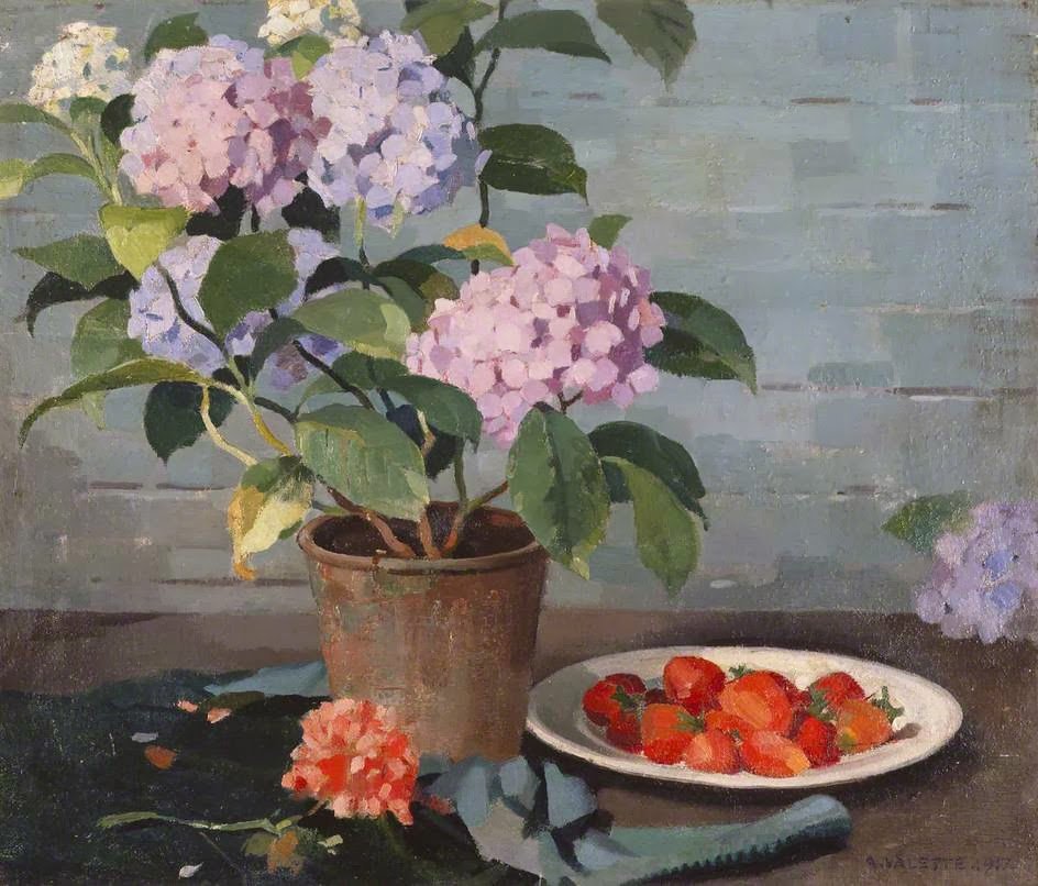 Adolphe  Valette    Flowers  and  Fruit