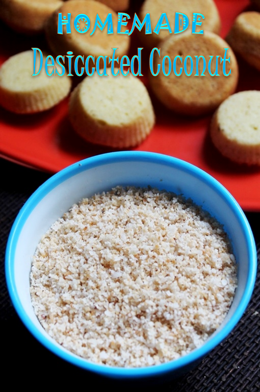 Homemade Desiccated Coconut Recipe - How to Make Desiccated Coconut