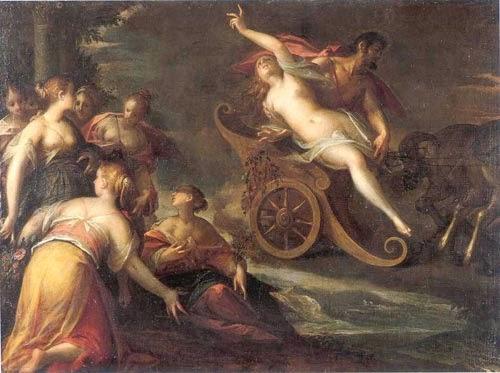 O Estrupo de Prosérpina - Hans Von Aachen e suas pinturas ~ Um grande pintor do estilo maneirista