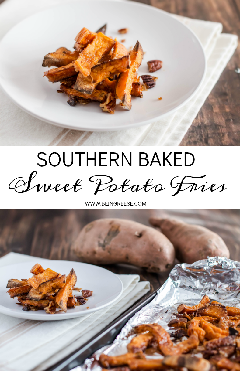 Southern Baked Sweet Potato Fries