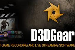تحميل أخف برنامج تصوير سطح المكتب D3DGear  للألعاب بدون تقطيع نهائي
