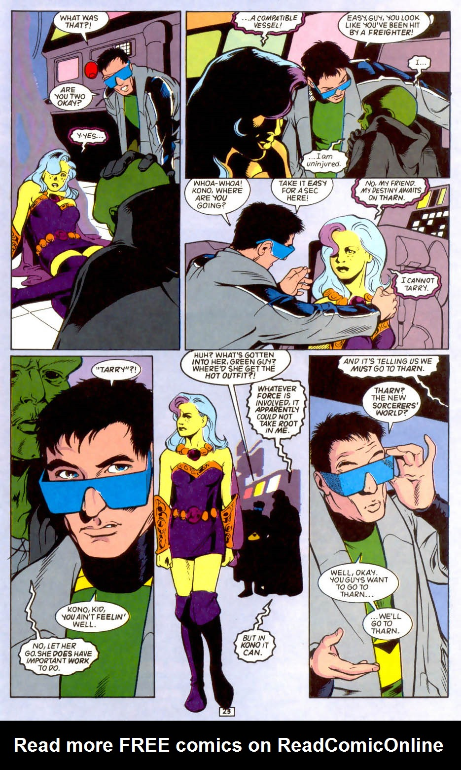 Legion of Super-Heroes (1989) 44 Page 23