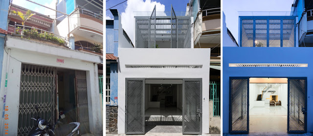 Tư vấn giải pháp sửa chữa nhà phố cho nhà 2 tầng trong hẻm nhỏ