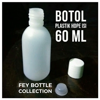 Jual Botol Plastik 60 Ml